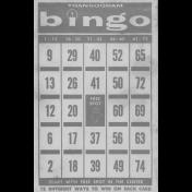 Bingo Card Template 005