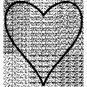 Heart Doodle Template 029