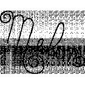 Doodle Word Art Template 040