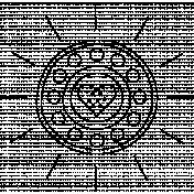 Sun Doodle Template 008