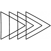 Arrow Doodle Temmplate 020