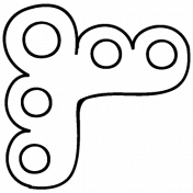 Corner Doodle Template 007