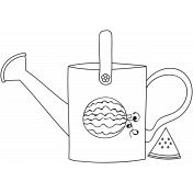 Can Doodle Template 004