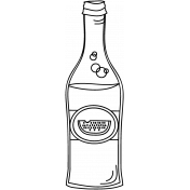 Drink Doodle Template 016