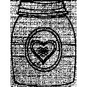 Bottle Doodle Template 013