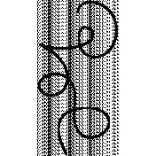 Swirl Doodle Template 043