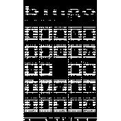 Bingo Card Stamp Template 001