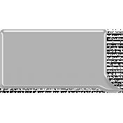 Layered Speech Bubble Template 003