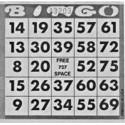 Bingo Card Template 006