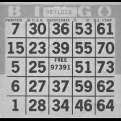 Bingo Card Template 007