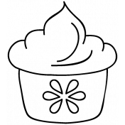 Food Doodle Template 031