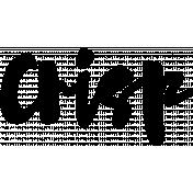 Word Art Template 126