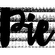 Word Art Template 134
