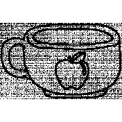 Drink Doodle Template 024