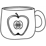 Drink Doodle Template 026