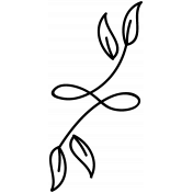 Swirl Doodle Template 048