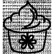 Clip Doodle Template 019