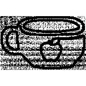 Clip Doodle Template 020