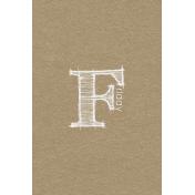 Toolbox Calendar- Sketchy Day Journal Card- Friday 4x6