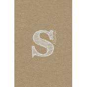 Toolbox Calendar- Sketchy Day Journal Card- Saturday 4x6