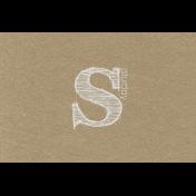 Toolbox Calendar- Sketchy Day Journal Card- Saturday 6x4