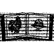 Illustration Stamp Template 049