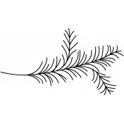 Branch Doodle Template 018