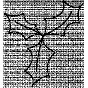 Leaf Doodle Template 039