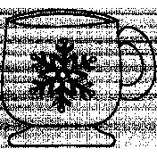 Mug Doodle Template 008