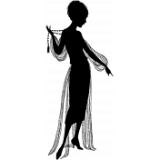 Silhouette Stamp Template 016