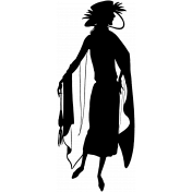 Silhouette Stamp Template 019