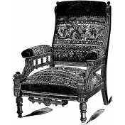 Furniture Stamp Template 003