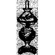 Lamp Stamp Template 002