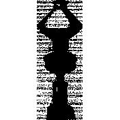 Lamp Stamp Template 003