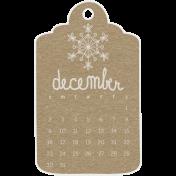 Toolbox Calendar- December 2018 Calendar Tag Brown