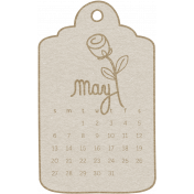 Toolbox Calendar- May 2018 Calendar Tag White