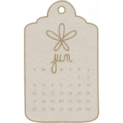 Toolbox Calendar- June 2018 Calendar Tag White