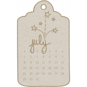 Toolbox Calendar- July 2018 Calendar Tag 02 White