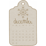 Toolbox Calendar- December 2018 Calendar Tag White