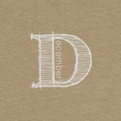Toolbox Calendar- Sketchy Month Journal Card- December 4x4