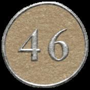 Toolbox Calendar- Dot Number 46 Brown
