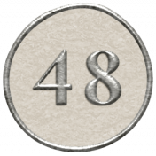 Toolbox Calendar- Dot Number 48 White