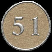 Toolbox Calendar- Dot Number 51 Brown