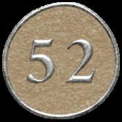 Toolbox Calendar- Dot Number 52 Brown