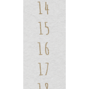 Toolbox Calendar- January Date Strip 01