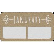 Toolbox Calendar- January Date Tag 01