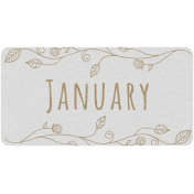 Toolbox Calendar- January Floral Date Tag 02