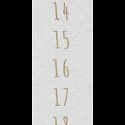 Toolbox Calendar- August Date Strip 01