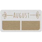 Toolbox Calendar- August Date Tag 02