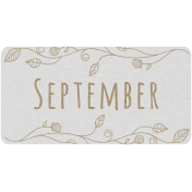 Toolbox Calendar- September Floral Date Tag 02